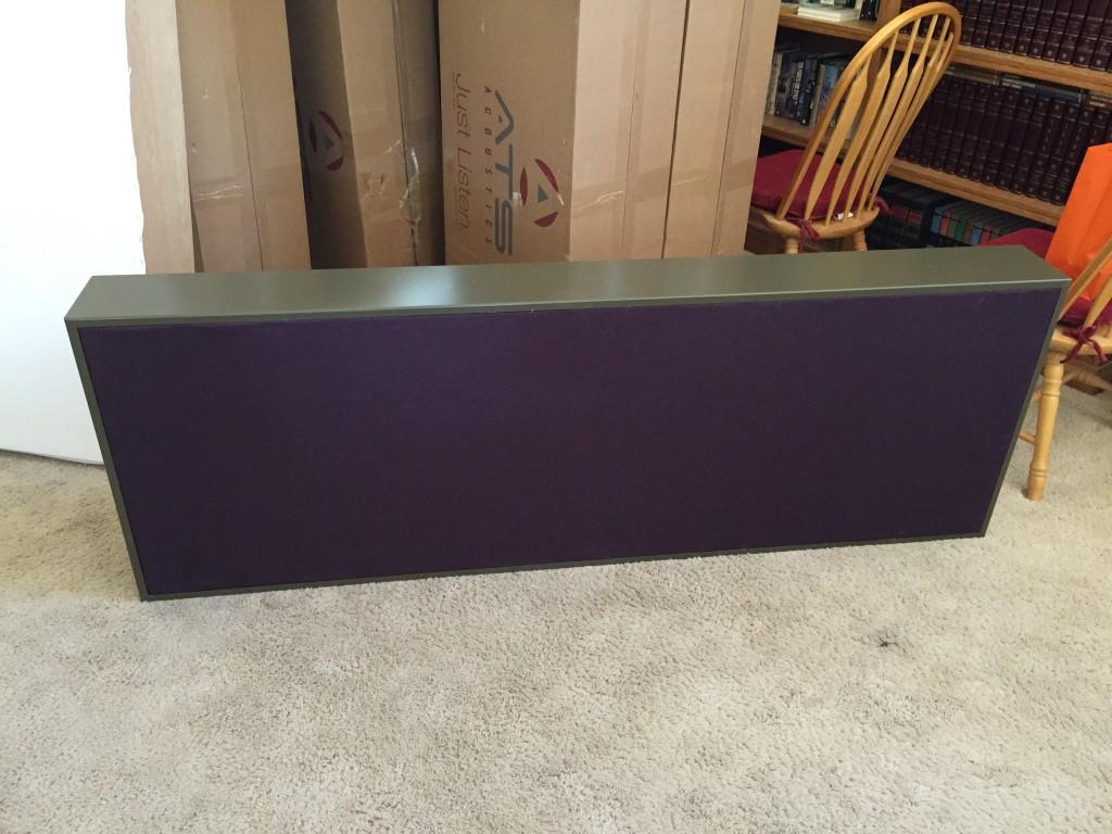 A large unit finished