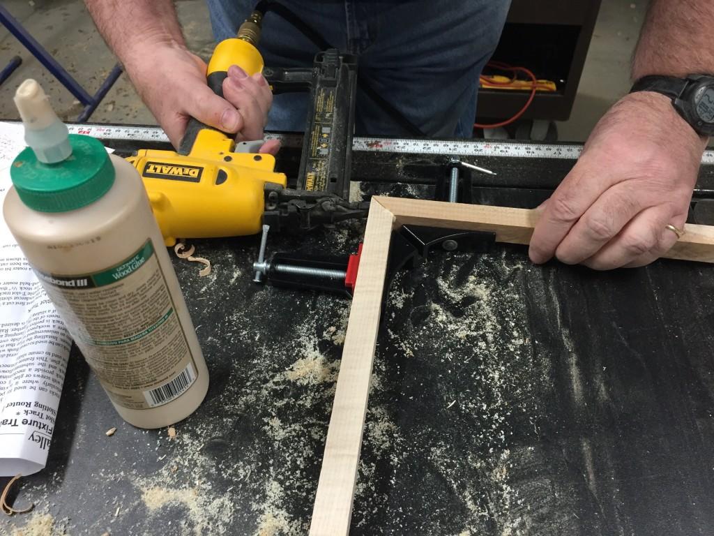 Pinning a poplar joint